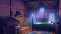 bedroom deviantart anime background castle backgrounds episode morning environment cool interactive visual sunset forest animation