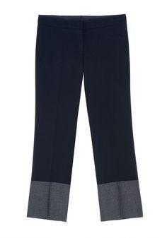 QL2 - PAMELA COLOR BLOCK PANT  (SOMETIMES I NEED BLUE) #women's #fashion