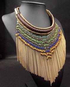 african necklace - Cerca con Google