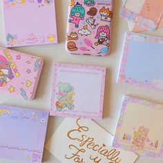 Stationery Store, Kawaii Stationery, Kawaii Planner, Japanese Stationery, Agenda Planner, Bullet Journal Notebook, Office And School Supplies, School Office, Sticky Notes