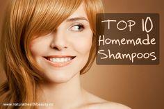 Top 10 Natural Homemade Shampoos