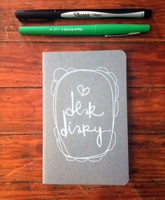 dear diary. a little pocket moleskine.  i love getting to hand illustrate these little journals! and sending them off to new lands makes me even happier. this one has been relisted! $12.50