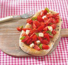 Pizza Bruschetta Rezept - ESSEN & TRINKEN