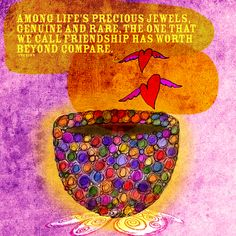 Drinking tea from a jeweled cup called life. What my #Tea says to me November 24th. Great quote, great friends, life is a jewel.