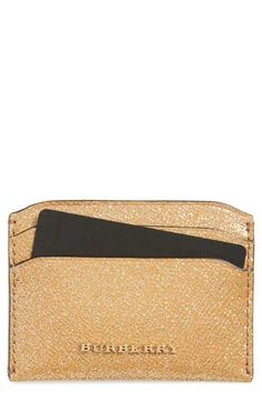 Burberry Izzy Leather Card Case