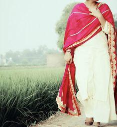 Punjabi Fashion, Punjabi Salwar Suits, Hand Embroidery, D1, Elegant, How To Wear, Dresses, Design, Style