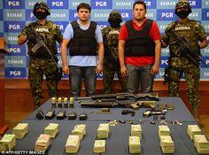 Oops! Mexican police reveal man paraded as son of drugs baron Joaquin 'El Chapo' Guzman is actually a CAR SALESMAN