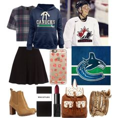Dating a hockey player!!!(Jake Virtanen ❤️) by katerina-koropoulis on Polyvore featuring polyvore, fashion, style, rag & bone, Whistles, Tory Burch, T-shirt & Jeans, ALDO, Casetify and NARS Cosmetics