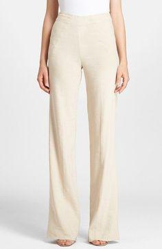 Donna Karan New York Donna Karan Collection High Waist Trousers available at #Nordstrom