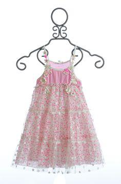 Baby Sara Girls Pink Party Dress