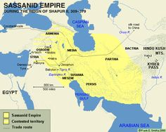 Religion, Politics and Persia Persian culture and Zarathustra | the Parthian empire to the Sassanids | the Prophet Mani | Manichaeism scattered | from Shapur II to decline | Invasions, famine and a failed communist revolution Sassanid Empire Persian Culture and Zarathustra Under Persia's Achaemenid Dynasty (550-330 BCE), temples had appeared for the first time. The Persians were related to those Aryans who had invaded India, or a least they had a language closely related to these A