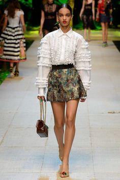 Dolce & Gabbana MFW SS17