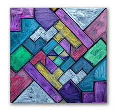 Explore angles and two-dimensional figures! Measure geometric shapes and design an original stained glass image.