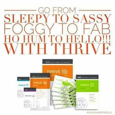 3 Simple steps and done in 30 minutes!! Feel better, sleep better, be Happy!!!  All natural vitamins and minerals, non GMO!! http://ceiswald.le-vel.com/