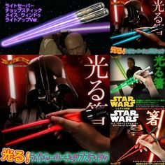 [ Pre-Order] Starwar 星戰光劍筷子 via Hoebuy. Click on the image to see more!