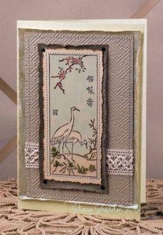 cranes blank by JBgreendawn - Cards and Paper Crafts at Splitcoaststampers