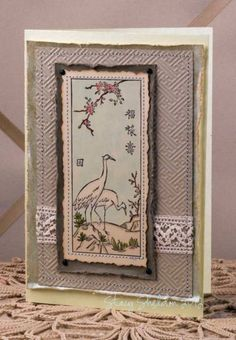 cranes blank by JBgreendawn - Cards and Paper Crafts at Splitcoaststampers
