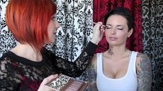 BobbiePinBeauty com Christy Mack Urban Decay Naked 3 Palette Francesca L...