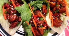 This delicious take on P. Chang's® famous chicken lettuce wraps will have you making a meal of an appetizer! Asian Lettuce Wraps, Chicken Lettuce Wraps, Wrap Recipes, Asian Recipes, Healthy Recipes, Chef John Recipes, Cooking Recipes, Appetizer Recipes, Dinner Recipes