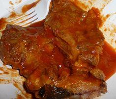 My friend Janis& Grandma& Neck Bone Gravy is the best way to spend a Sunday afternoon. Neckbones And Gravy Recipe, Pork Neck Bone Soup Recipe, Neckbone Recipe, Beef Neck Bones, Pork Recipes, Cooking Recipes, Recipies, Cook Fresh Spinach, Red Gravy