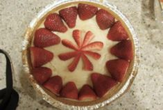 Strawberry Cheesecake | VegWeb.com, The World's Largest Collection of Vegetarian Recipes
