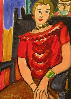 The Red Blouse / Henri Matisse, 1936
