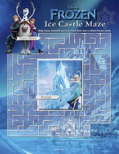 Free Frozen printables-coloring pages, Elsa crown, Anna crown, invitations, stickers, thank-you tags, printables games
