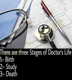 The 3 stages of A Doctor