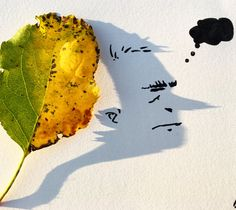 Shadow Art: Vincent Bal Turns Shadows Of Everyday Objects Into Funny Illustrations Shadow Drawing, Shadow Art, Shadow Play, Thor Drawing, Land Art, Amazing Drawings, Art Drawings, Vincent Bal, Ombres Portées