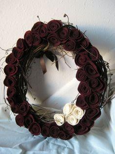 I am loving the colour of those merlot flowers.
