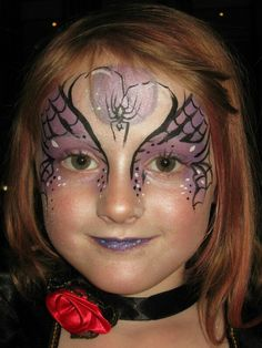 Halloween witch facepaint