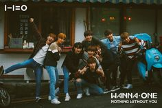 Wanna One 'Beautiful' BTS Photo (Movie ver.)