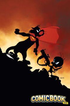 EXCLUSIVE: Looney Tunes Variants For Aquaman, Batman/Superman, Deathstroke, Green Arrow & Harley Quinn | Comicbook.com