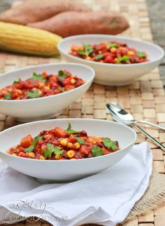 Vegetable Chili (Vegan) ~ ASpicyPerspective.com
