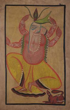 Uttam Chitrakar - Ganesha   The Story by Saffronart
