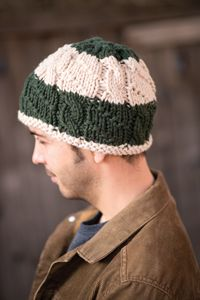 Hudson River Trail Hat pattern - from Love of Knitting magazine's special Knit Accessories 2014 Issue