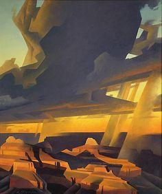 ED MELL  Open Heavens, Grand Canyon (1994)