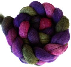 BFL Combed Top Spinning/Felting Fiber 4 Oz. All by FriendsinFiber, $14.50 Such beautiful rich, deep colors...