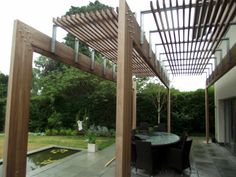 We enjoy the challenge of creating a beautiful wooden garden pergola structures, using a wealth of experience and an eye for detail we turn your ideas into reality Diy Pergola, Deck With Pergola, Cheap Pergola, Wooden Pergola, Pergola Shade, Diy Patio, Pergola Ideas, Patio Ideas, Pergola Roof