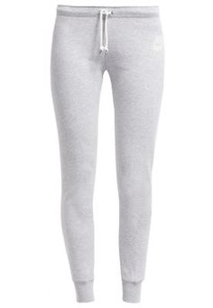 RALLY - Tracksuit bottoms - grey heather/sail