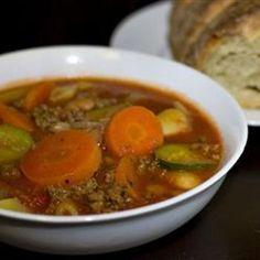 Venison Italian Soup
