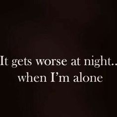 Night #lonliness