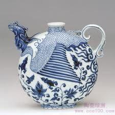 Cobalt teapot