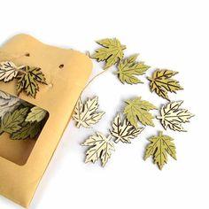 Streuartikel Blätter 24er Set, grün