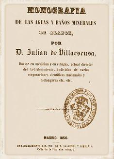 Monografía de las aguas y baños de Alange por Juli...