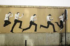 #levalet #streetart #streetartparis #paris10 rue d'alsace juil 2013