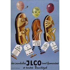 Les sandales Jlco sont fameuses et toutes sanitized-Plakat