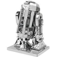 Figure Model Kits - Fascinations Star Wars R2D2 Model Kit Metal Earth Fascinations ** You can find out more details at the link of the image.
