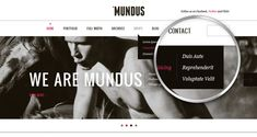 Mundus Agency Psd Web Template