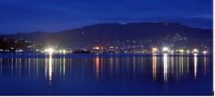 City of Ambon in the night